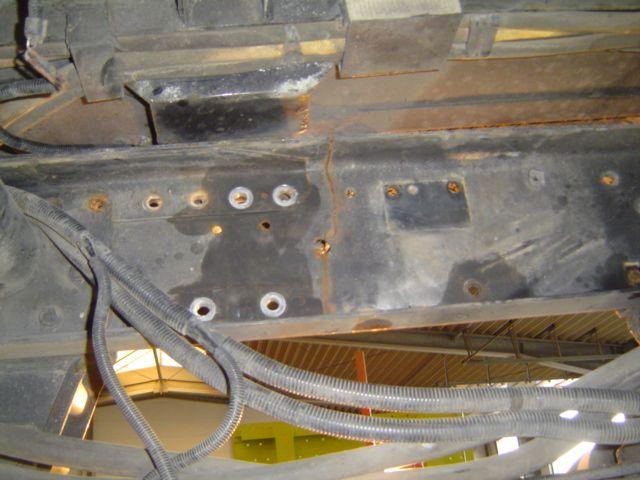 Inside View of Frame Breakage